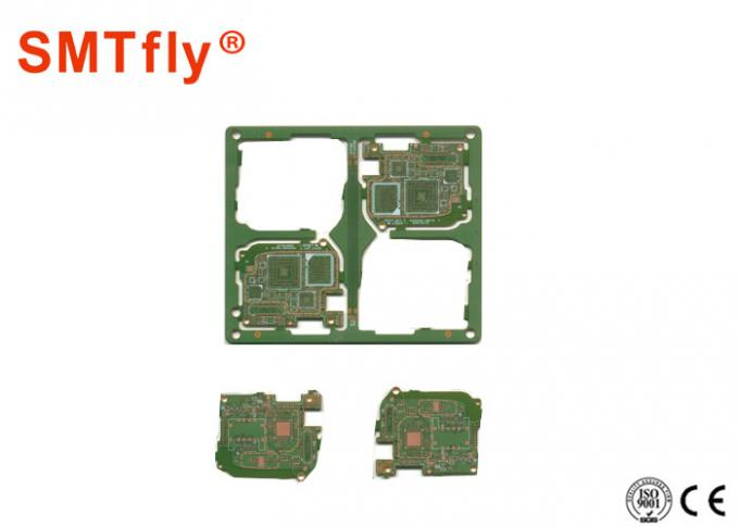 type de refroidissement de coupure SMTfly-F03 de compression d'air de machine de séparateur de carte PCB de 0.5mm